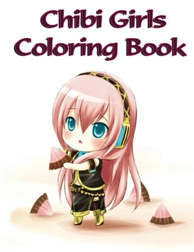 anime coloring book - 9