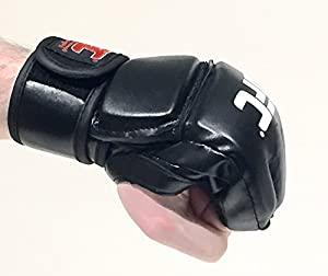 MMA Gloves - UFC Mitts for Training and Professional Fights- Beginner Mixed Martial Arts Gloves- Ideal for Sparring, Grappling, Punching Training Mitts – Premium Quality Boxing Gloves