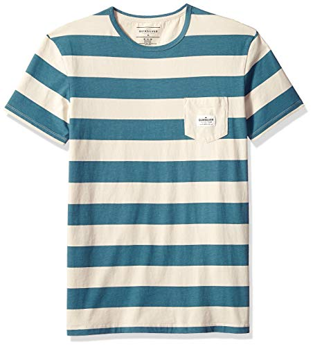 Quiksilver Men's MAXED Kyoto Knit Crew Neck, Tapestry MAXED Stripe, L