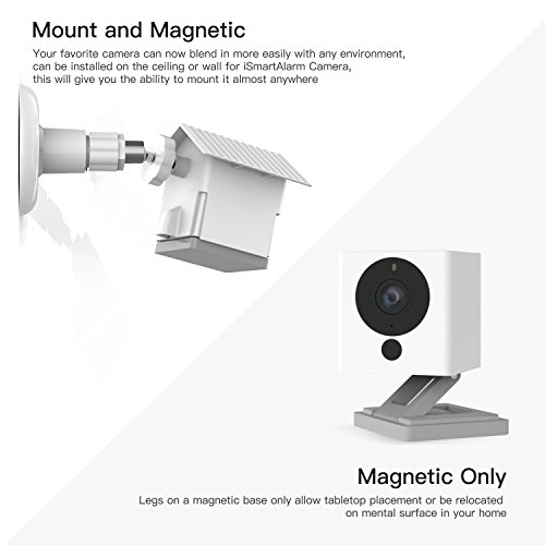 Wyze Camera Wall Mount Bracket Weather Proof 360 Degree Protective  Adjustable Indoor and Outdoor Mount Cover Case for WyzeCam 1080p Smart  Camera and