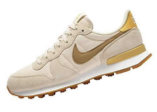 Multicolore Donna Ginnastica Internationalist Wheat Summit 209 Gold Beach da Scarpe Wmns Nike White waSqFF