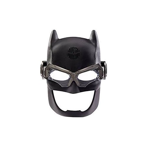 DC Justice League Batman Voice Changing Tactical Helmet Mattel FGM36