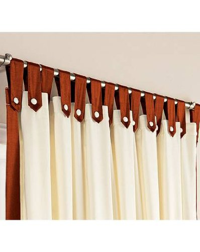 how to make tab top curtains uk