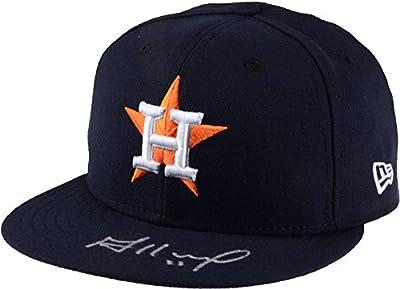 Jose Altuve Houston Astros 2017 MLB World Series Champions Autographed New Era World Series Cap - Fanatics Authentic Certified