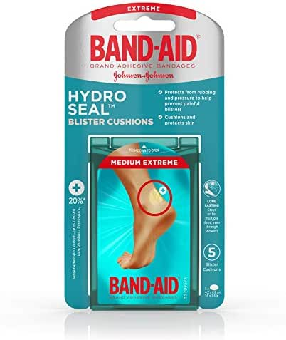 Bandages & Gauze: Band-Aid Hydro Seal Blister Cushions