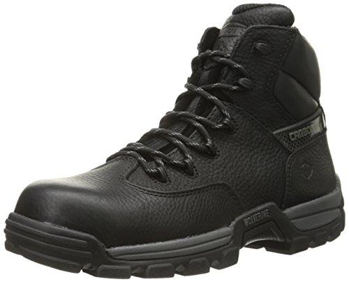 Wolverine Men's Guardian 6 InchCarbonx Work Boot, Black, 10 M US