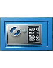 Digital Electronic EL17 Safe Box, Blue