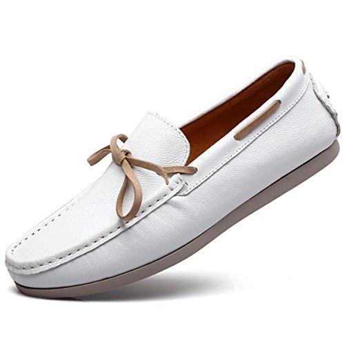 Miyoopark - zapatilla baja hombre blanco
