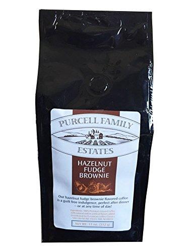 Price comparison product image Purcell Family Estates Hazelnut Fudge Brownie Coffee - 11 oz. (312g)