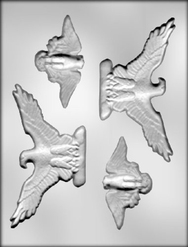 - CK Products 3-5/8-Inch and 5-3/8-Inch Eagles Chocolate Mold