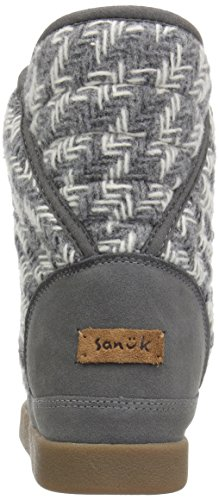 sale pictures free shipping discounts Sanuk Women's Big Bootah Winter Boot Grey Arrowooly pictures for sale pre order for sale cheap sale amazing price p2oTvzPL