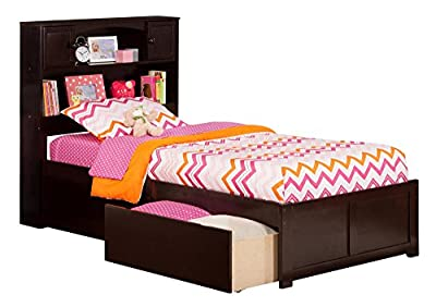 Newport Flat Panel Foot Board w/ 2 Urban Bed Drawers
