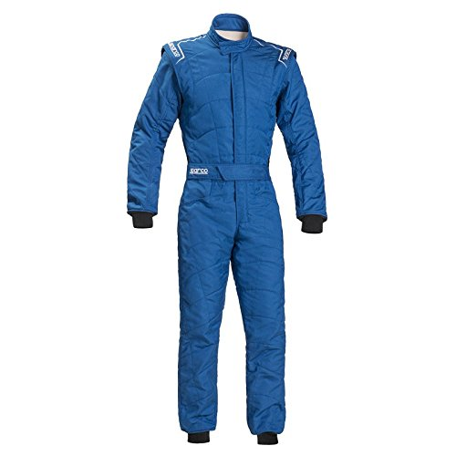 Sparco Sprint RS-2.1 Racing Suit 001091 (Size: 56, Blue)