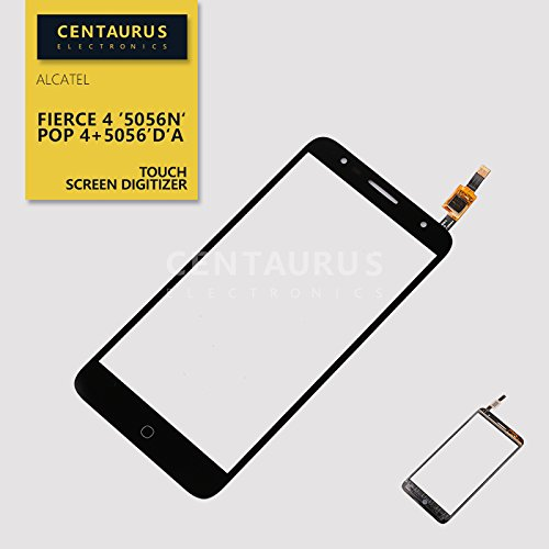 New Touch Screen Digitizer glass lens Replacement For Alcatel Pop 4+ 5056m 5056D 5056A Black US