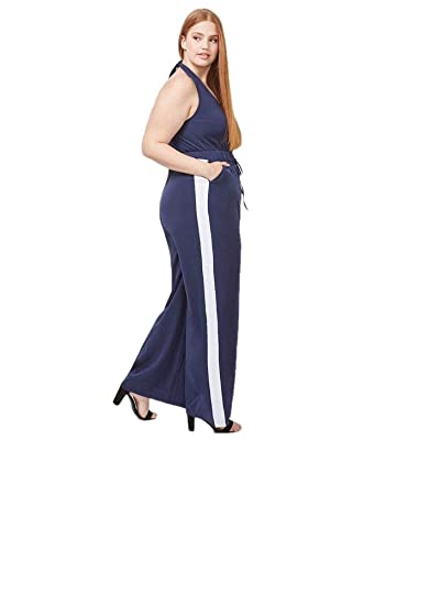 2500904c504 Lane Bryant Wide Leg Halter Jumpsuit (22)  Amazon.com.au  Fashion
