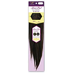 Vivica A Fox Hair Collection LCL17 - L Part Closure New Futura Synthetic Heat Resistant Fiber, 4, 5.8 Ounce