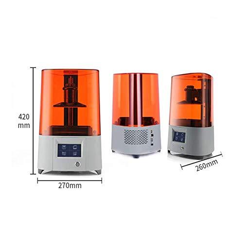 Impresora 3D Superficie de Moldeo Fotocurable LCD 0.01mm Resina de ...