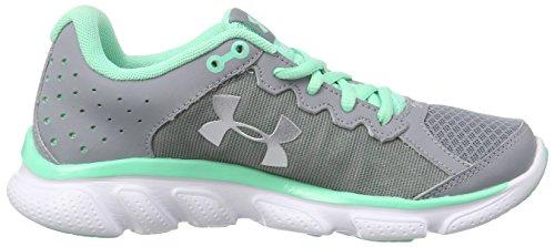 Under ArmourUA W Micro G Assert 6 - Zapatillas de Running Mujer, color Gris (STL/ANF/MSV 35), talla 40.5 EU (6.5 UK)