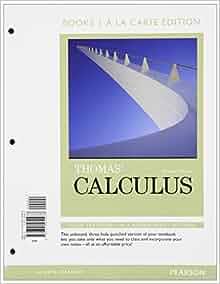 thomas calculus 13th edition pdf download