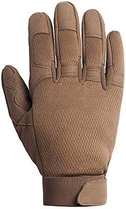 Guanti da lavoro antiscivolo per bici da lavoro per motociclisti mimetici guanti da uomo completi-a1-S