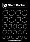 Silent Pocket Webcam Privacy Stickers For Camera Lens Privacy (Black Out)