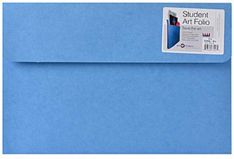 Star Products Student Art Folio (Blue) | 10 in. x 15 in. x 2 in. 1 pcs sku# 1873831MA by Star Products