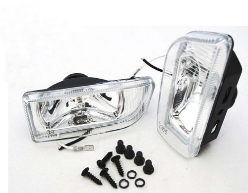 55w Clear Lens - Dlaa Universal Fog Light Spot Lamp H3 12v 55w Clear Lens 2