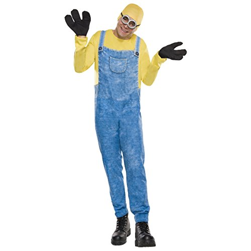 Rubie's Men's Minion Movie Minion Costume, Kevin, Standard - Kevin Costumes