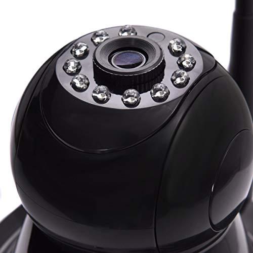 720P Wireless Wifi HD Webcam IR Security Camera Surveillance Night Vision Black by Apontus (Image #2)