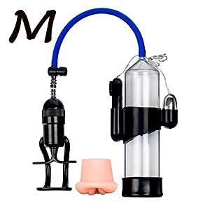 Keliay Enlarge Vacuum Pump Men's Booster Male Extender Sex Delay Device Sucking Machine (A-S)