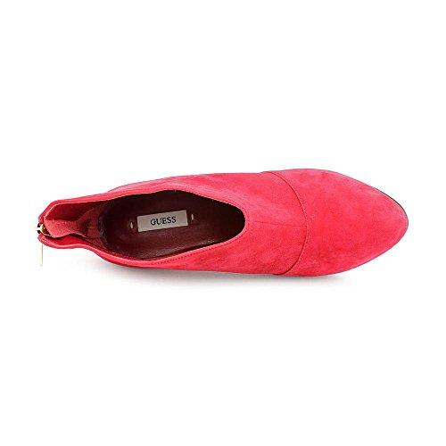 Gissa Carlice Kvinnor Storlek 7.5 Röda Mocka Mode Boots