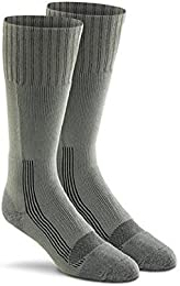 Military Wick Dry Maximum Mid Calf Boot Sock (2 Pack - Medium FOLIAGE GREEN)