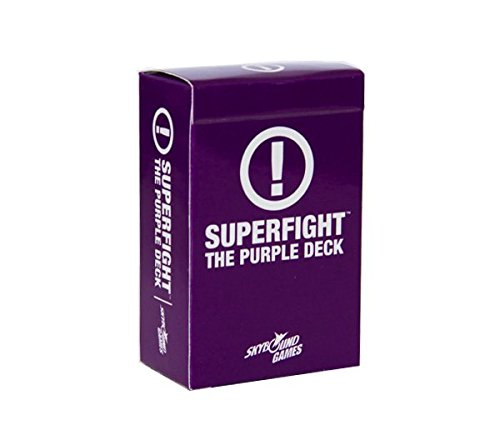 Superfight Card Game from Skybound: The Purple Deck ()