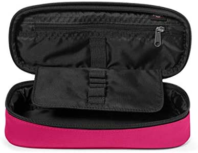 Eastpak Oval Single Estuche, 22 cm, Rosado (Ruby Pink): Amazon.es: Equipaje