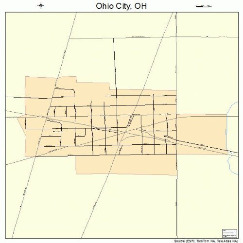 Amazon.com: Large Street & Road Map of Ohio City, Ohio OH ... on ohio county map with major cities, large maps of northern ohio, large maps of northeast ohio, large map of missouri, large map of london, large map of tennessee, midwest map with cities, northeast ohio county map with cities, large maps of columbus ohio, large map of south carolina, morrow county ohio map cities, large map of montana, ohio map with counties and cities, large map of mississippi, southwestern ohio map with cities, large map columbiana oh, large map of north dakota, large maps of ohio 45140, large map of cincinnati, printable ohio map with cities,