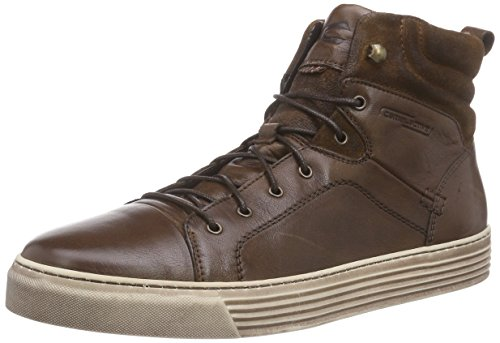 Camel Active Bowl 12, Sneakers Hautes homme, Marron (Bison/Nut 01), 43 EU