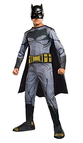 [Rubie's Costume Batman vs Superman: Dawn of Justice Batman Value Costume, Medium] (Marvel Heroes Costumes For Adults)