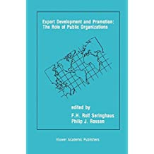 Export Development and Promotion: The Role of Public Organizations