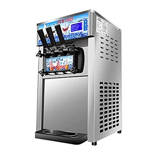 1200W desktop commercial soft serve ice cream machine soft ice cream maker three color ice cream making machine