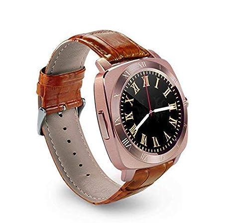 Furein Compatible con Android e iPhone Reloj Inteligente Smartwatch X3 Táctil Bluetooth Yiqi Yaodai Llamadas Música