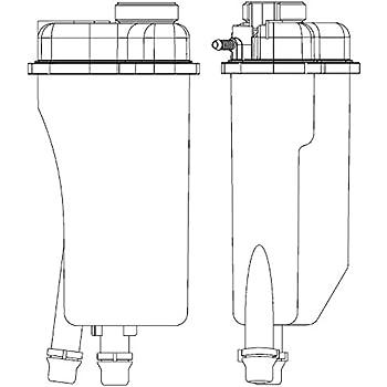 Dorman 603-536 Coolant Reservoir for BMW