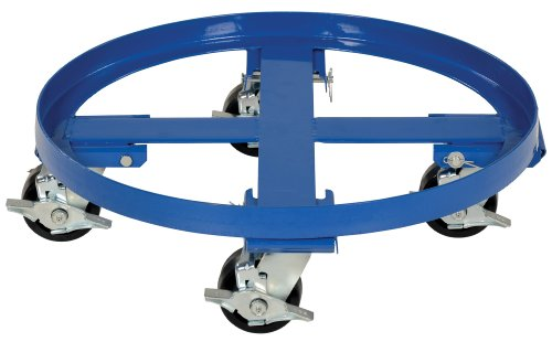 Vestil DRUM-HD Heavy Duty Drum Dolly, 2000 lbs (Hd Casters)