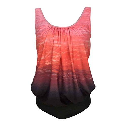 Rosso Bekleidung Rot XL Rot Ballerine Damen SANFASHION Medium bademode144 SANFASHION Donna FHdY0q0w