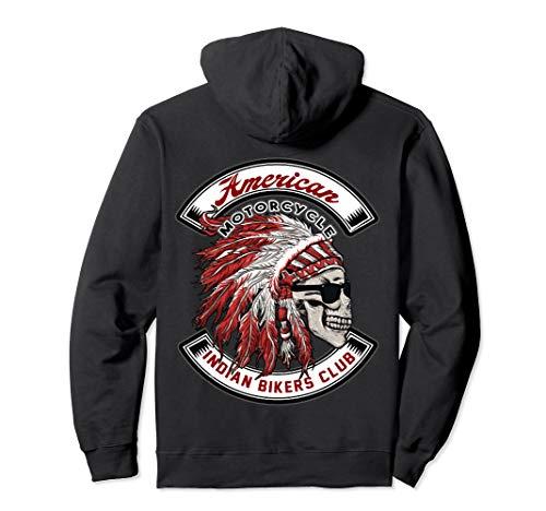 American Motorcycle Indian Bikers Club Hoodie