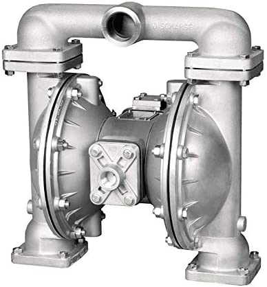 45GPM // Max 125PSI// P//N 8325 Aluminum Air Operated Pneumatic for Antifreeze Alemite Heavy Duty Double Diaphragm Transfer Pump 1 // Buna-N New//Used Oil