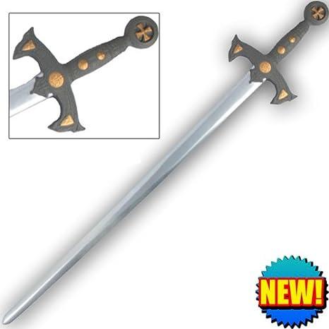 Amazon com : Crusader Foam Practice Sword GBL008