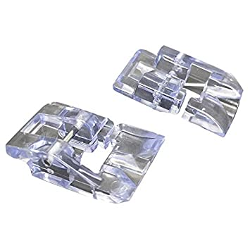 Para máquina de coser perlas y lentejuelas pie redondo con pie, se ajuste a Singer/Brother//Viking/Babylock Euro-pro/Janome/Kenmore/blanco/Juki/simplicidad ...