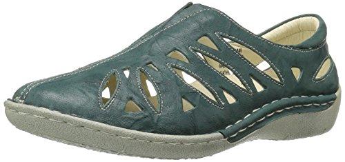 (Propet Women's Cameo Loafer Flat Aqua 10 2E US)