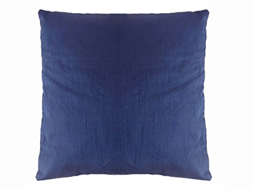 Saffron Polyester Dupioni Silk Plain Solid Pillow Case Cushion Cover 20