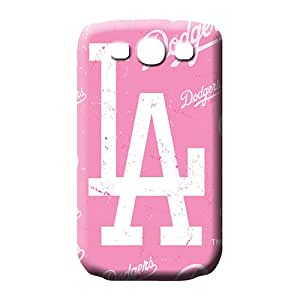 samsung galaxy s3 Eco Package High-end Protective Cases phone back shell los angeles dodgers mlb baseball